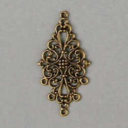 Filigree finding 48x25mm