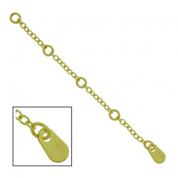 Extension chain 64x3,4mm with 4 rings