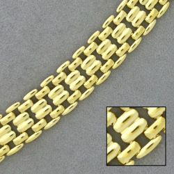 Cartier brass chain width 12,4mm for necklace
