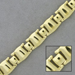 Brass chain width 10,6mm for necklace