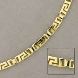 Brass chain width 6mm for necklace