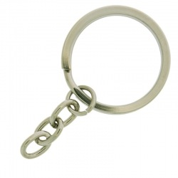 Keyring outside Ø30mm with 3 chain links